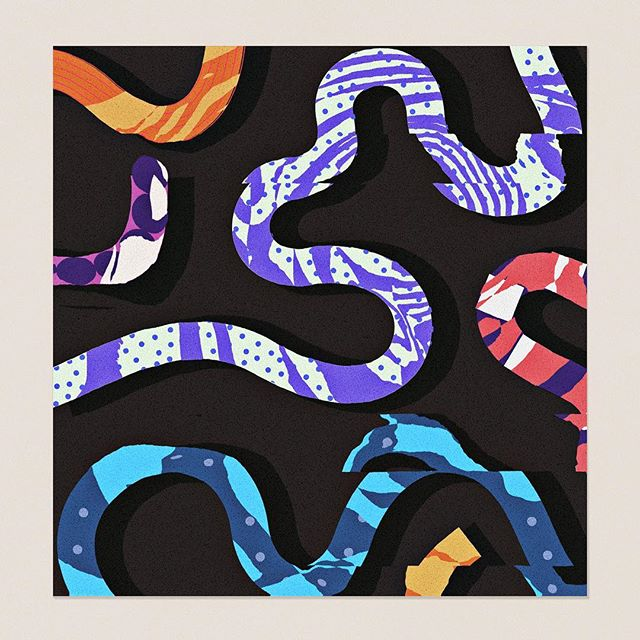 we almost lost a few good snakes yesterday. 🐍🖤 thanks again to all for helping us reel em  back in. 🙏 grateful knowing the industry got your back 🙏 . . . . .  #theideafoundation #abstractmag #kiblind #slowgalerie #ballpitmag #clubsensible #picame #designarf #tafmag #Paintguide #powwowworldwide #designboom #newcontemporary #gagosian @etapes @hifructosemag @juxtapozmag #socfeature #supplyanddesign
