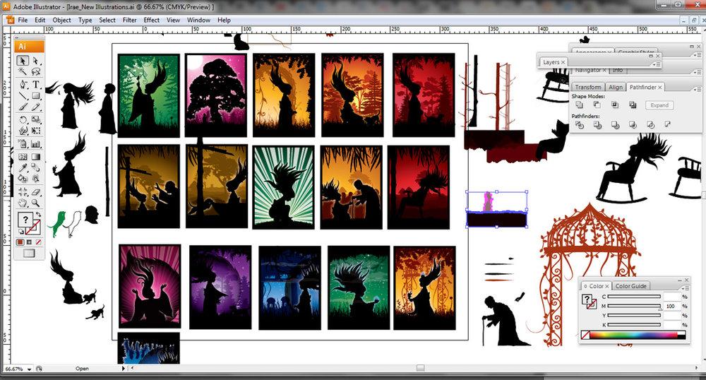 Irae illustration chaos