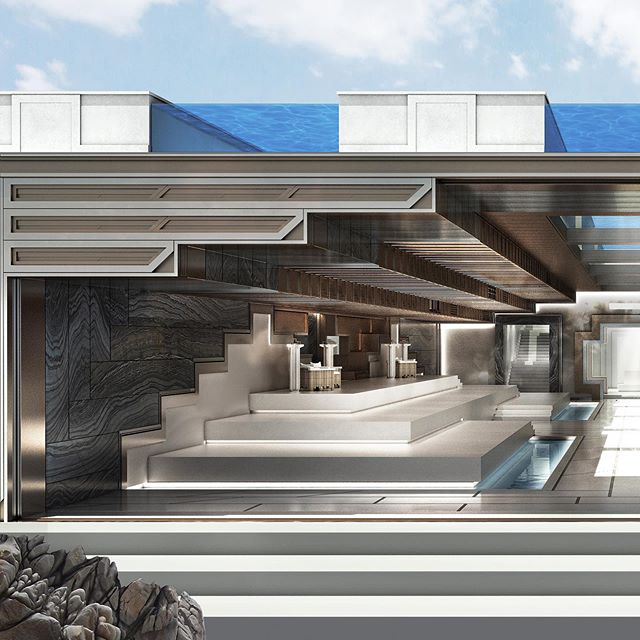 Destination wellness and healing resort and spa concept/ lobby entrance designed by NGNY #wellness #healing #spa #resort #hotel #design #interiordesign #architecture #luxury #hospitality #ngnydesign