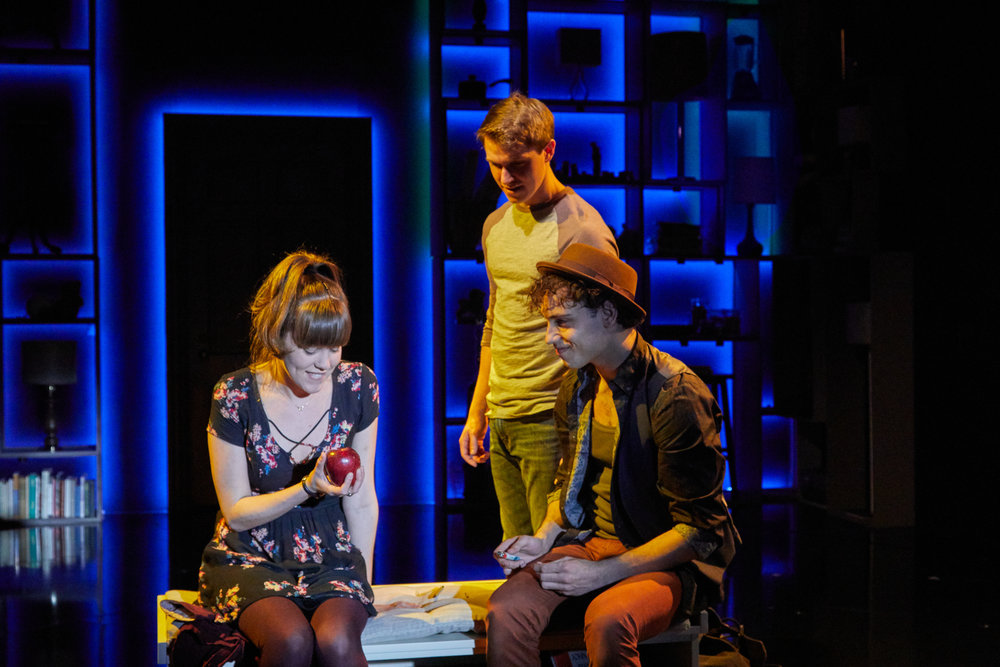 NEXT TO NORMAL   TheaterWorks  Rob Ruggiero, Director  Wilson Chin, Set Design  John Lasiter, Lighting Design  Ed Chapman, Sound Design  photo by Lanny Nagler