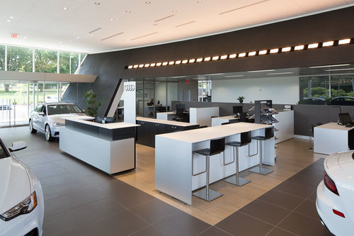Commercial Fuqua Partners Architects - Audi huntsville