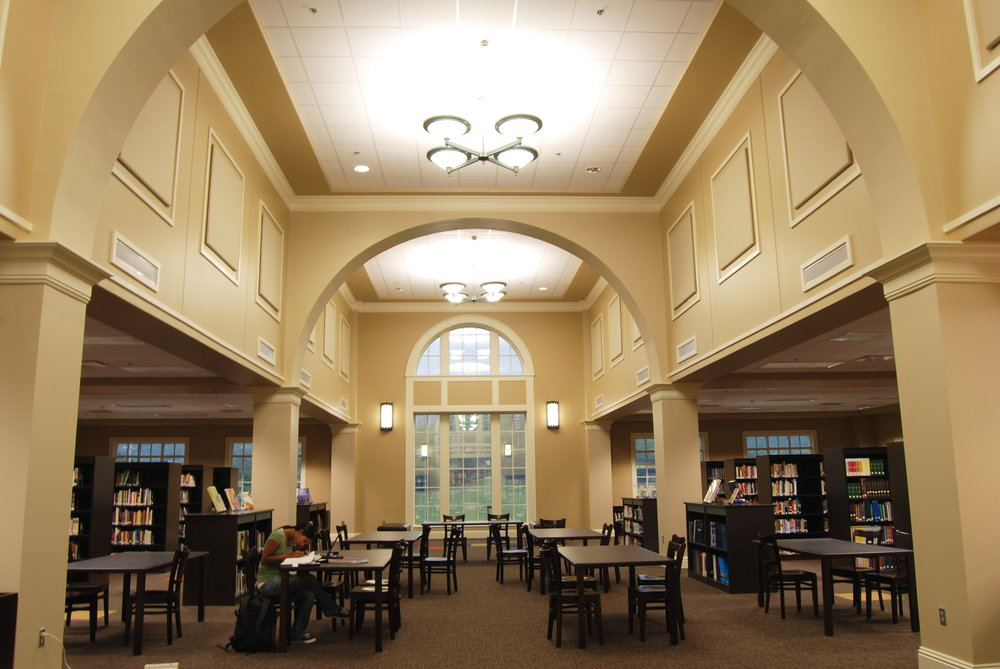 Randolph School - Garth Campus - view of library.jpg