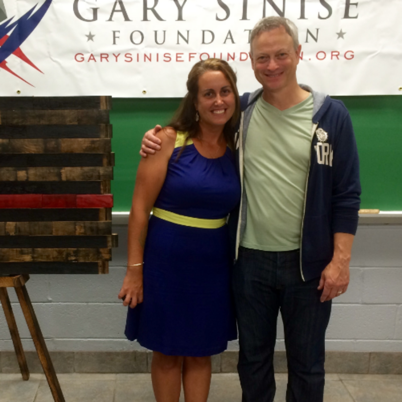 Louise and Gary Sinise