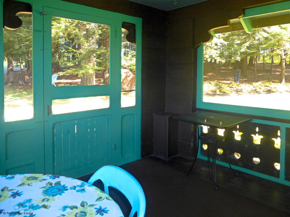 Screened Kitchen Porch