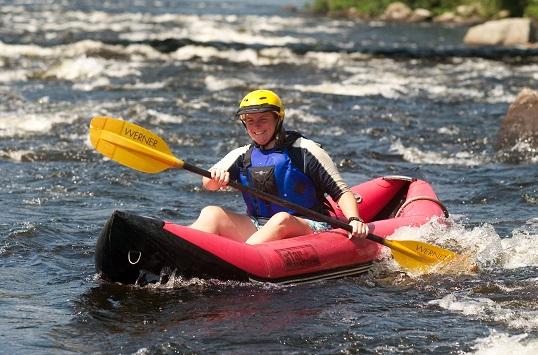 White Water Rafting on Saco River