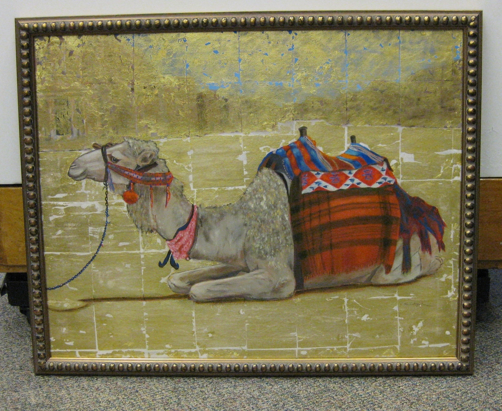 Camel with museum glass.JPG