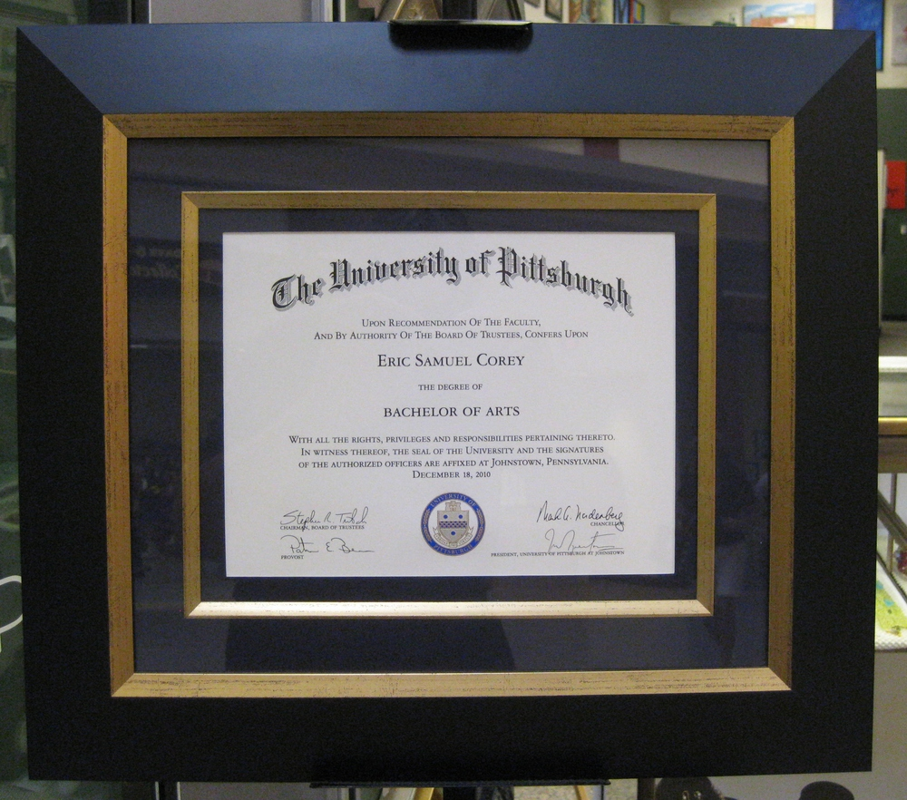 Pitt diploma.JPG