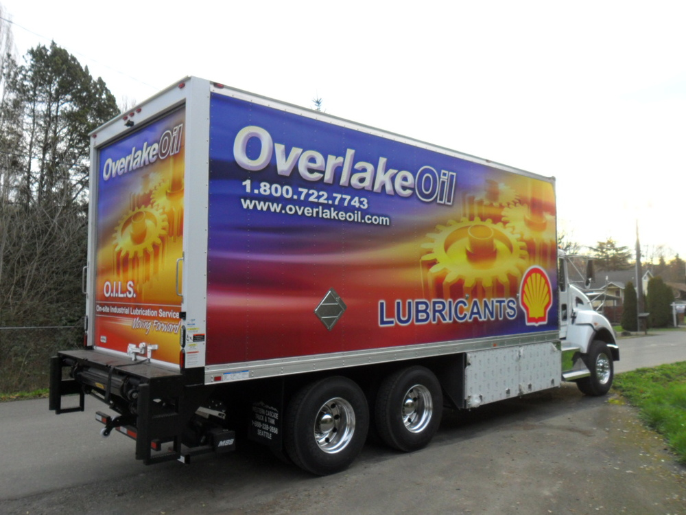we are in the  Solutions business   Lube Oil Delivery Truck   Sales    Service    Parts