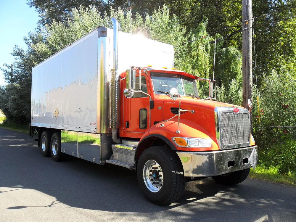 Lube Oil Delivery Trucks Western Cascade
