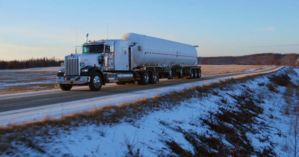 NEW LNG TRAILER   Built Alaska Tough   Click Here for more details