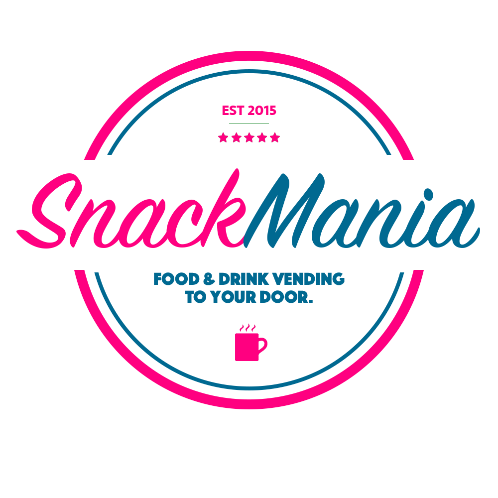 SnackMania logo design