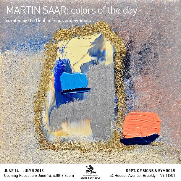 Martin Saar, #021, 11 x 11 cm, oil on tile, 2015