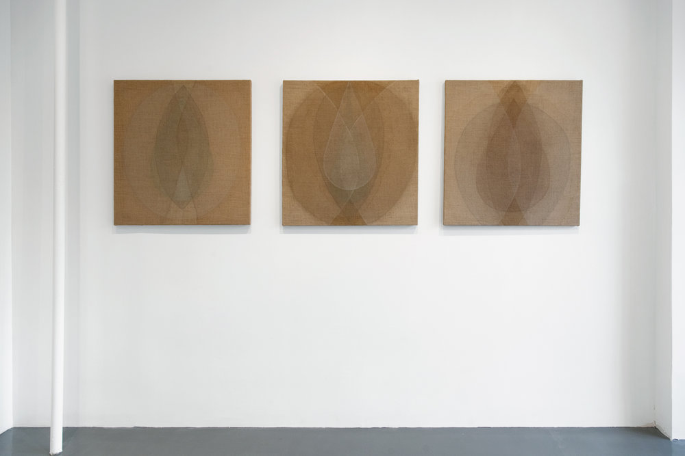 Installation View, Primal Forms, 2018
