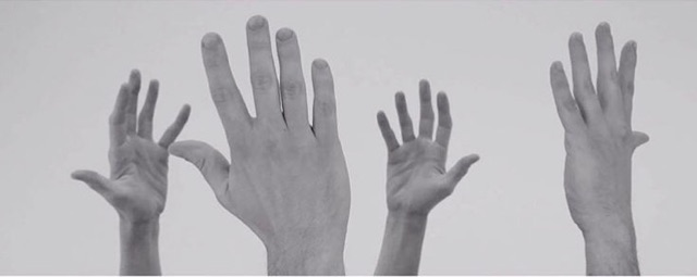 Tony Orrico,  Accelerated Image: Yvonne Rainer's Hand Movie (1966) , 2014