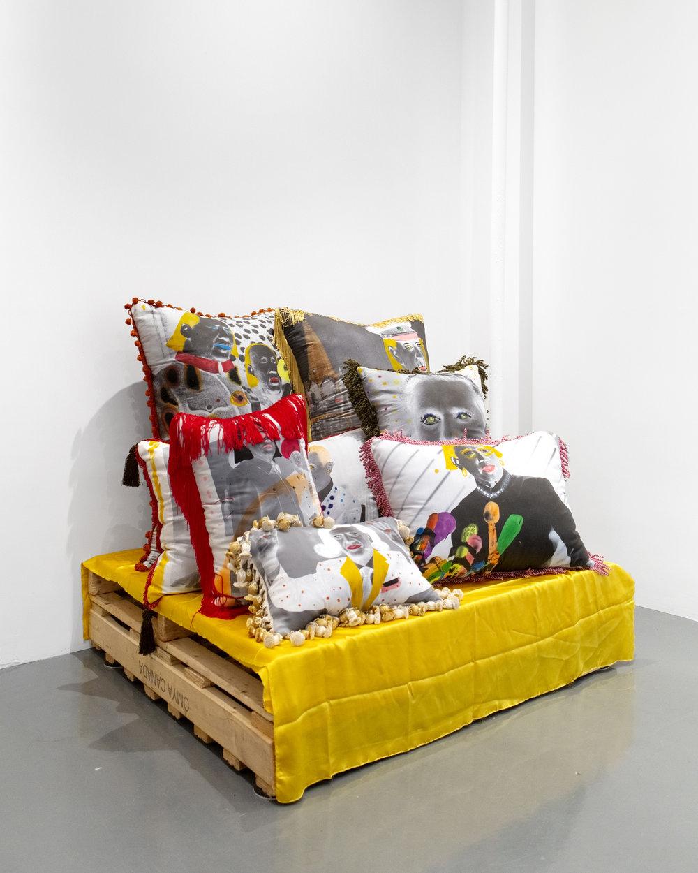 Installation View, Rachel Libeskind, 2018