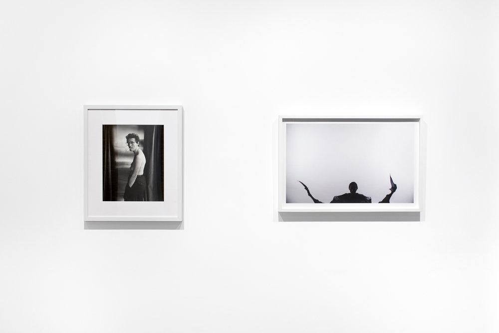 Installation View, Stephen Barker, Michelle Handelman, 2018