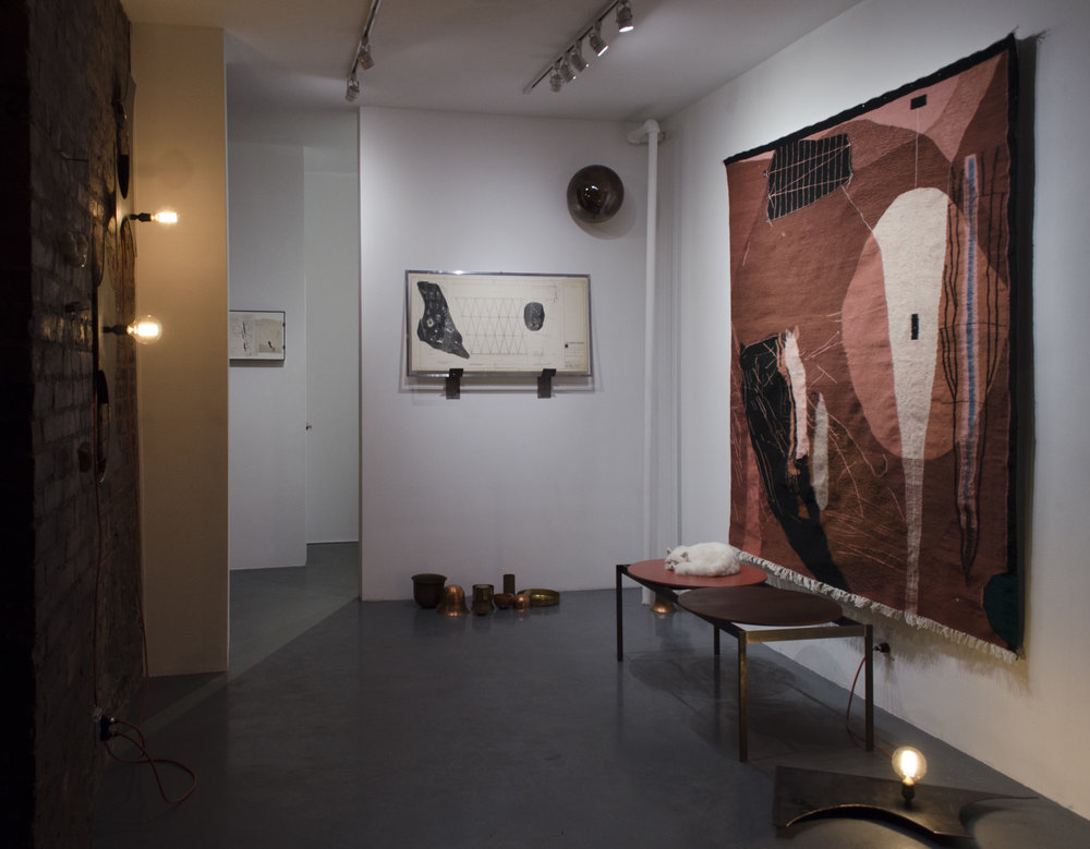 Sarah Entwistle,  It may prove a mere accident that we met, or it may prove a necessity , Exhibition View, 3.3.19 - 4.14.19