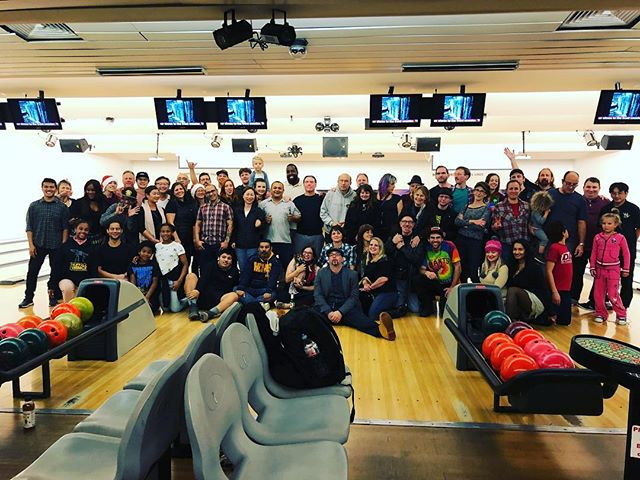 Local 16 IATSE annual xmas party #SF #SOMA #Fun #teambuilding