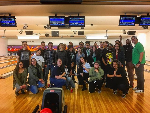 Do you folks like video games? @capcomunity USA is in the house!! Thanks everyone for stopping in and having a great time #capcom #strikesonly #SF #Soma #fun #teambuilding #bowling #food