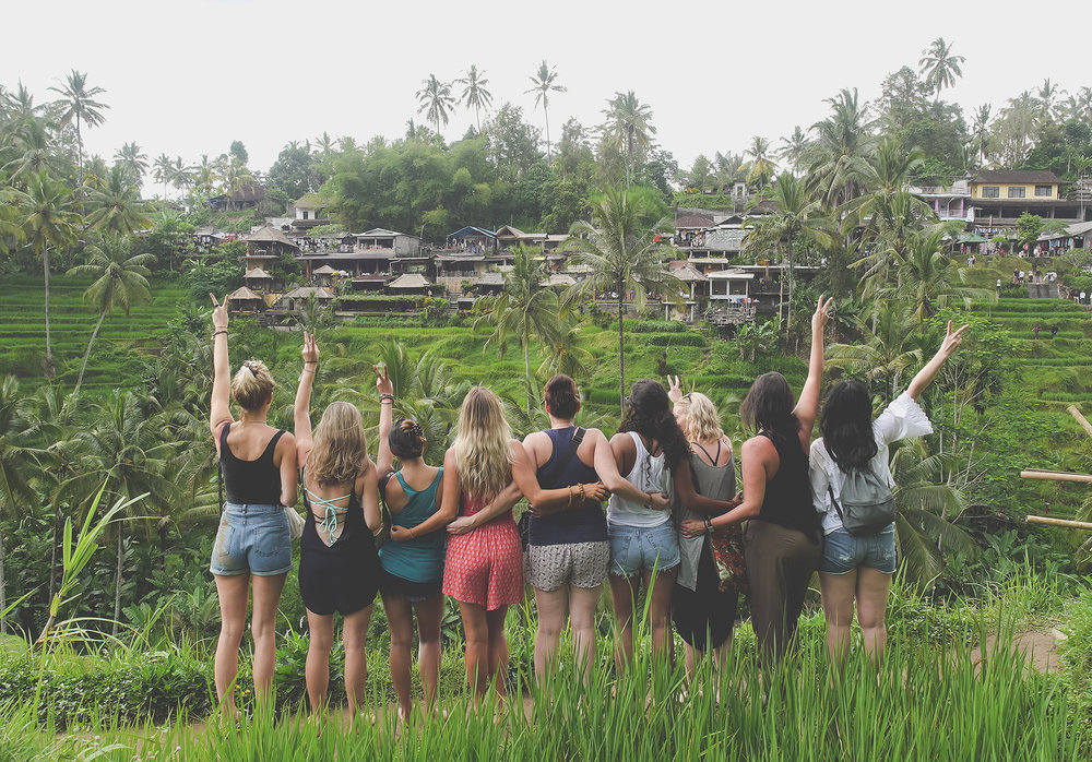 Bali Yoga Retreat and yoga girls
