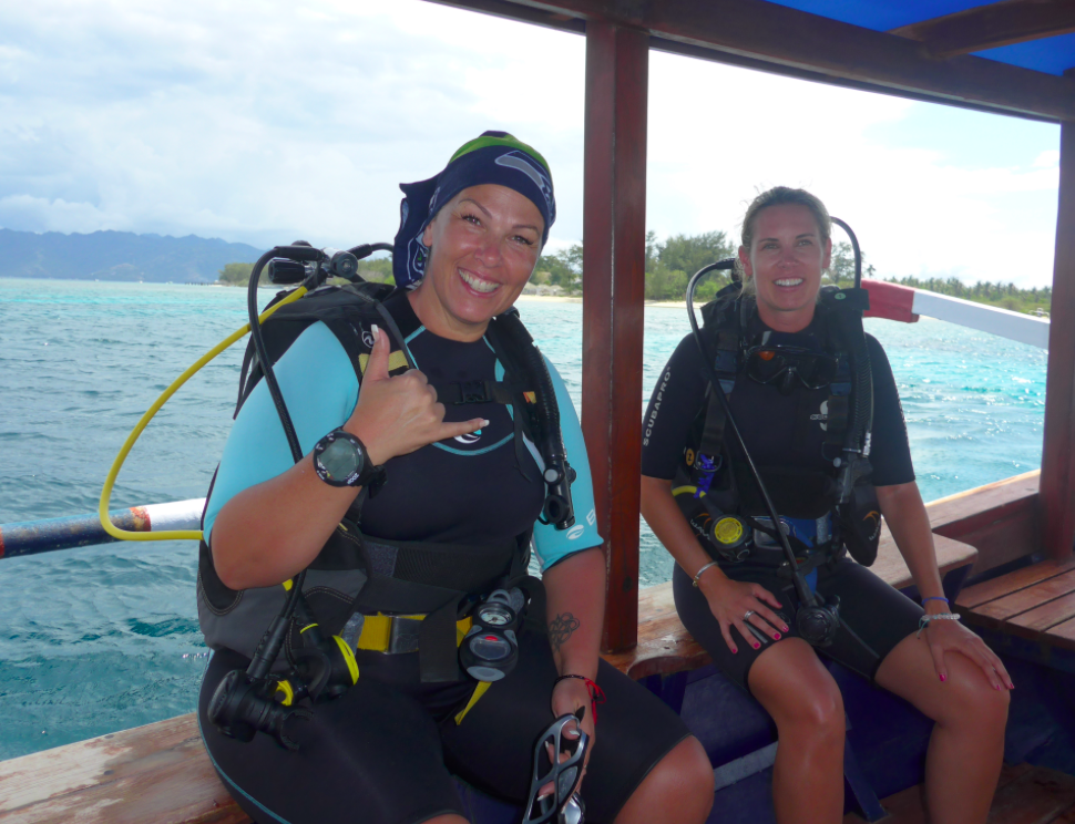 - Scuba fun for everyone! -