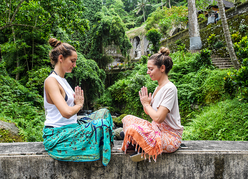 Bali Yoga Retreat and yogi girls