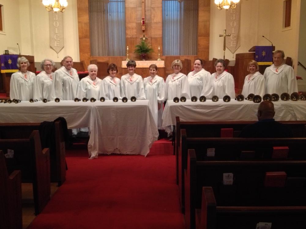 The Lessye Moore Handbell choir