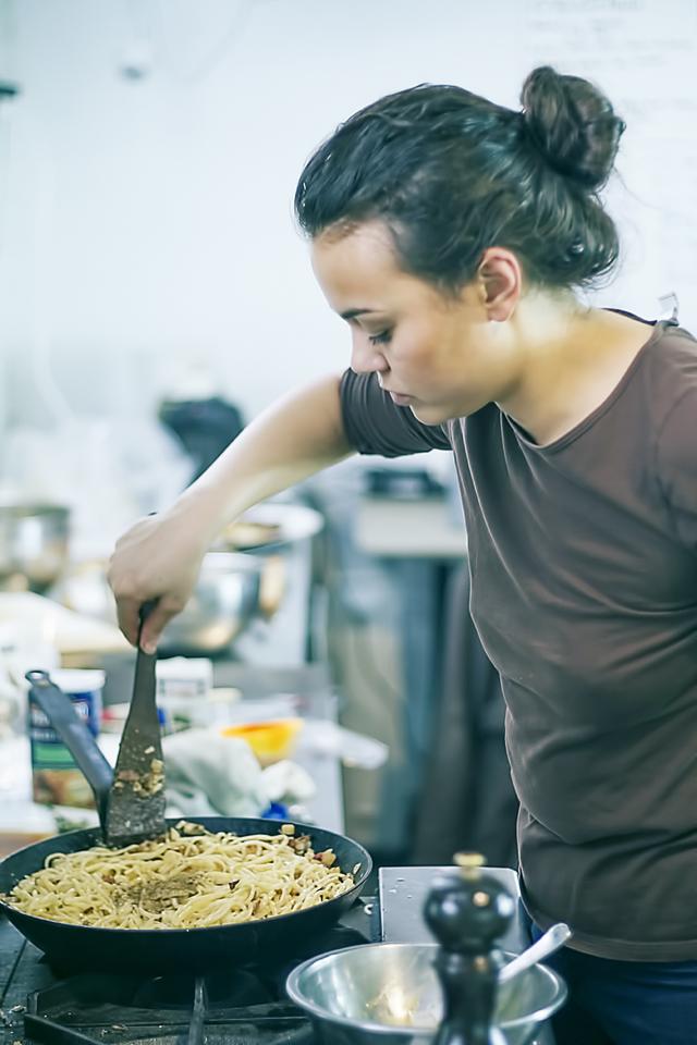 Chef clarina cravins designs the recipe -