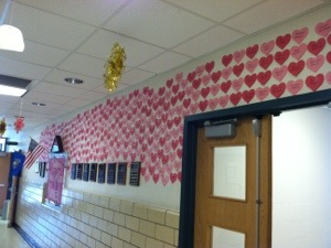 Look at Mapleton Elementary Schools Wall of Kindness!!   The kids have done an amazing job helping other!