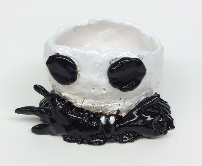 Jack Skellington Planter