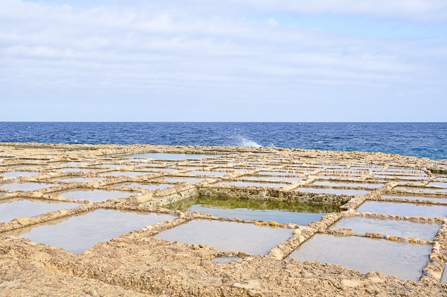 salt pans - Malta has produced salt since ancient times