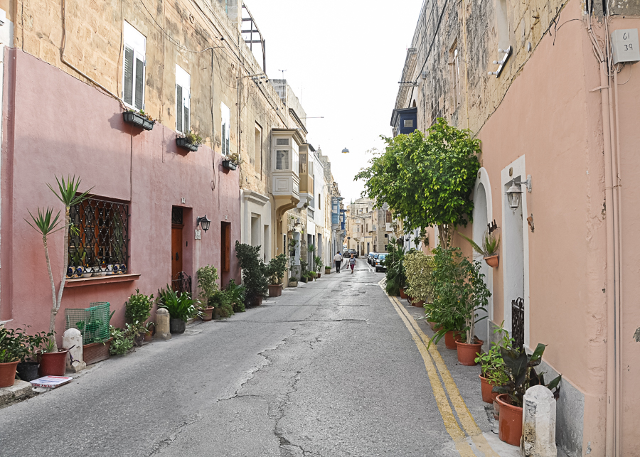 quiet streets of Naxxar