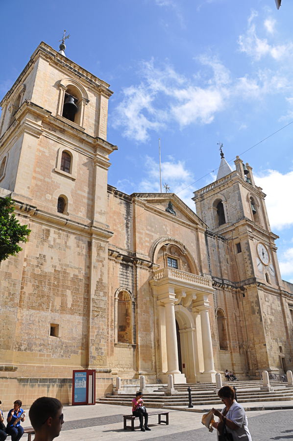 St. John's Cathedral in Valletta, where the Order of Knights of the Hospital of St. John of Jerusalem (Knights Hospitaller) ruled for 250 years.  The Knights were a Catholic military order.