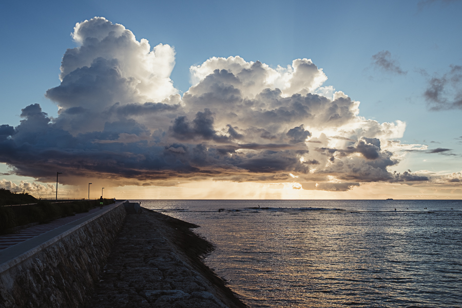 On the seawall - the Cloud