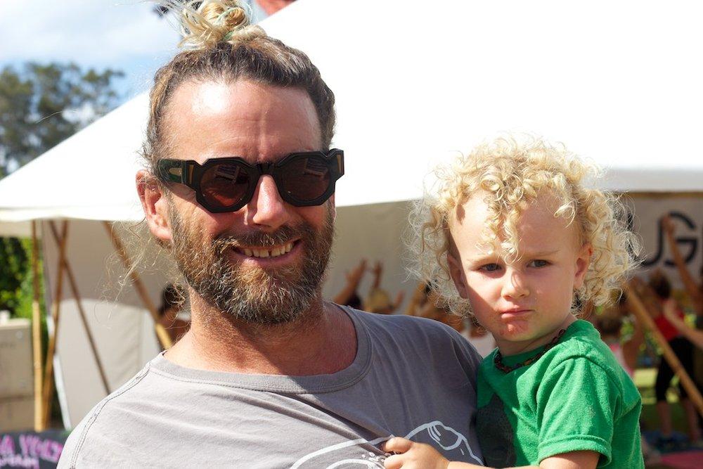 James McMillan festival founder and son Noa