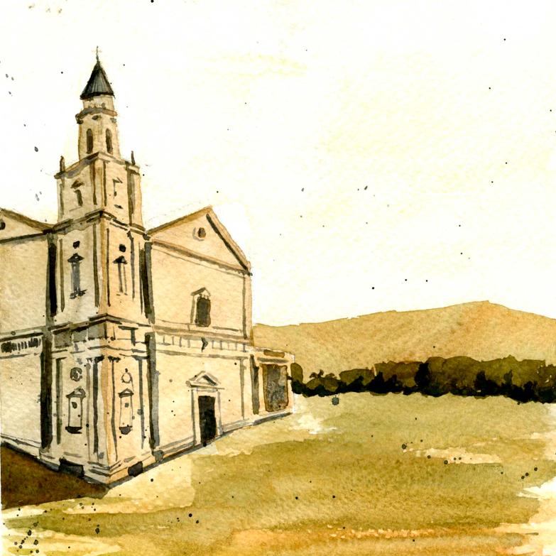 Watercolors |  Montepulciano