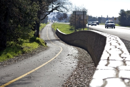Yountville Mile Bike Lane