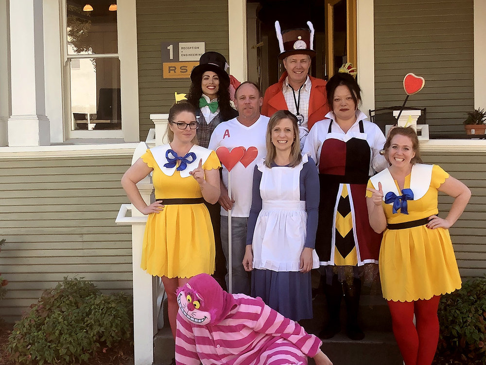 Alice in RSA_Land ... this year's RSA+ Halloween costume winning team