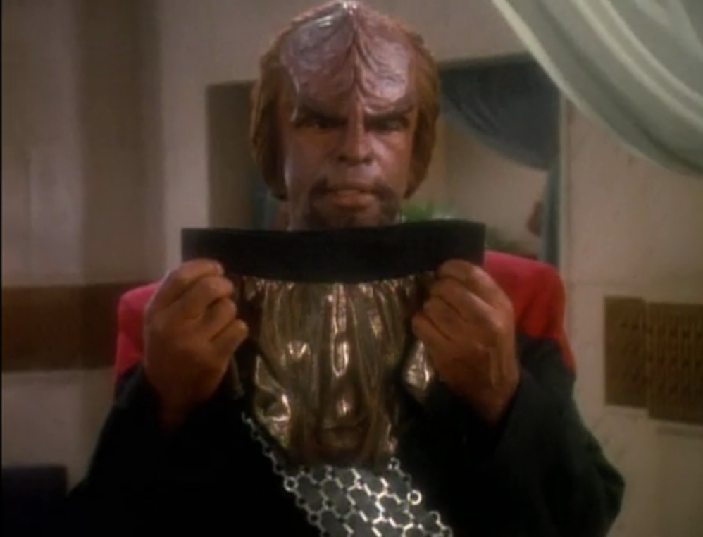 uncomfortableworf.tumblr.com - Even a mighty warrior like Worf knows the struggle is real.