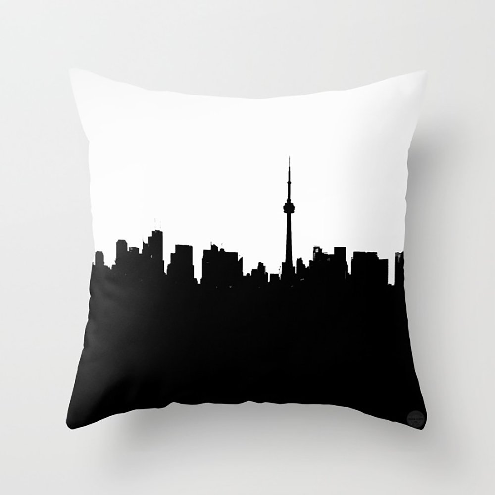 Toronto by Nadia Lloyd- Cushion
