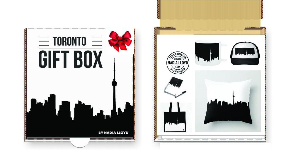 Toronto Gift Box by Nadia Lloyd   www.nadialloyd.com