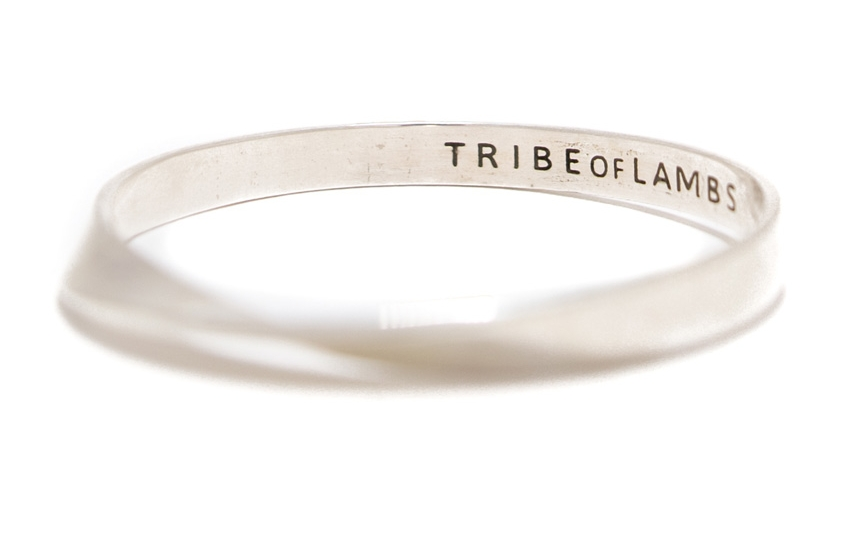 4. TRIBE OF LAMBS - Make a bid that will feel good for a long time to come! This beautiful, delicate sterling silver bracelet is conceptualized by Toronto designer TRIBE OF LAMBS, a nonprofit brand raising funds and awareness for HIV positive children living in various communities in India. OPENING BID OF $99