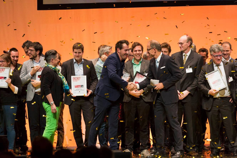 On stage with all finalist. CONGRATS! to everyone who made it that far.