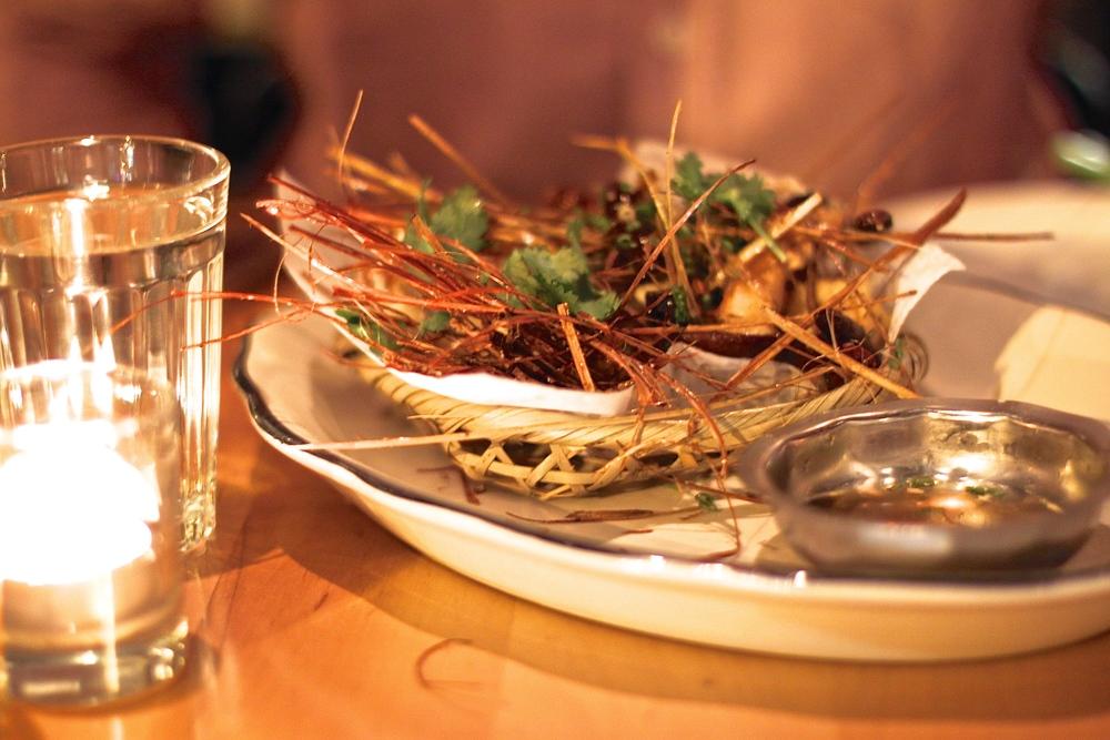 Crispy Shrimp at Mott Street