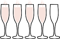 Four Flutes Rating from Bubbles in Bucktown // bubblesinbucktown.com