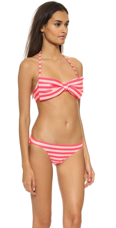 Kate Spade New York | Georgica Beach Stripes Bow Bikini