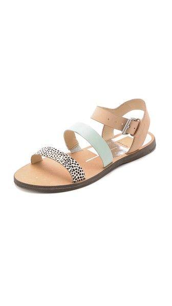 Dolce Vita | Veya Flat Haircalf Sandals