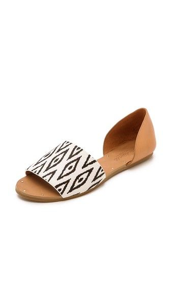 Madewell | Thea Diamond Ikat Sandals