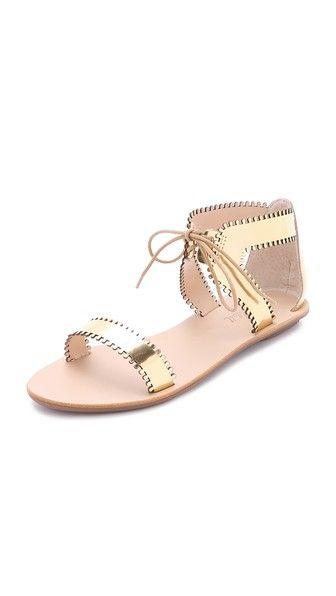 Loeffler Randall | Sofia Scalloped Sandals