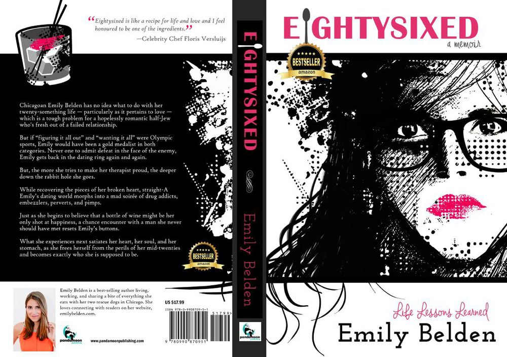 Review of Eightysixed by Emily Belden on Bubbles in Bucktown (bubblesinbucktown.com)